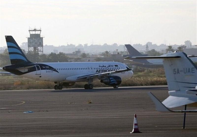 لیبی، بسته شدن فرودگاه معیتیقه به دلیل بمباران کور