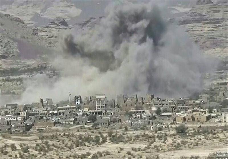 یمن، حملات موشکی عربستان به روستاهای الضالع و صعده