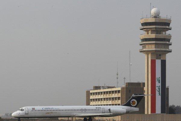 حمله راکتی به مجاورت فرودگاه بین المللی بغداد